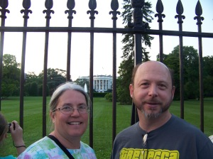 Ginny and Gerry at the White House